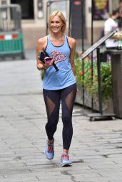 Jenni Falconer in Spandex - London 07/15/2020