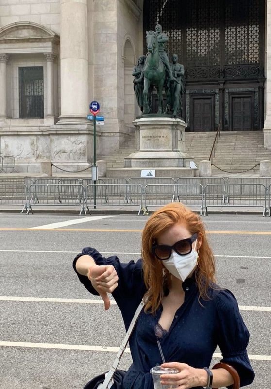 Jessica Chastain - Social Media Photos and Videos 07/08/2020