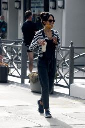 Jordana Brewster - Out in Brentwood 07/28/2020