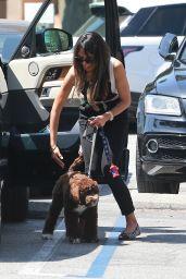 Jordana Brewster - Out in Santa Monica 07/15/2020