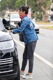 Jordana Brewster - Out in Santa Monica 07/23/2020