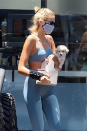 Kaia Gerber in Gym Ready Outfit 07/07/2020