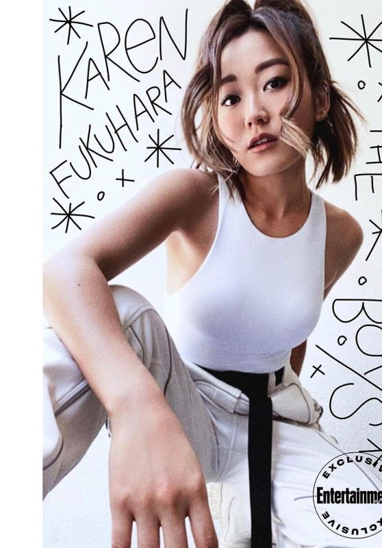Karen Fukuhara - Entertainment Weekly July 2020