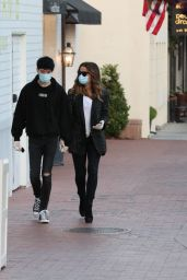 Kate Beckinsale and Goody Grace - Out in Palisades 06/30/2020