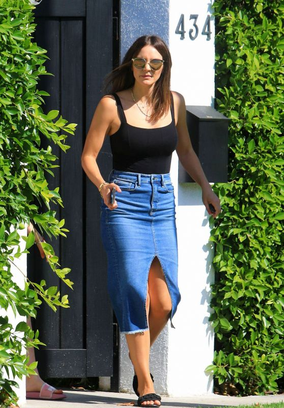 Katharine McPhee at a Friends House in West Hollywood 06/29/2020
