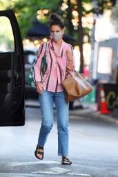 Katie Holmes - Out in SoHo, New York 07/21/2020