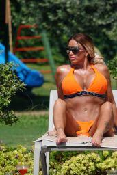 Katie Price in a Bikini - Holiday in Turkey 07/27/2020
