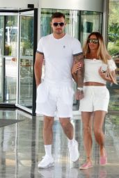 Katie Price With Boyfriend Carl Woods in Turkey 07/28/2020