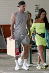Katie Price - With Her New Boyfriend Carl Woods in Surrey 07/13/2020
