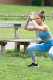 Katie Waissel - Exercises in North London 07/13/2020