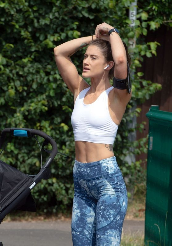 Katie Waissel - Out in North London 06/16/2020
