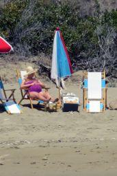 Katy Perry on a Beach in Santa Barbara 07/26/2020