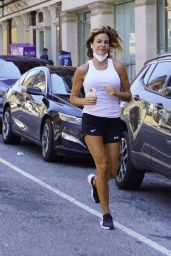 Kelly Bensimon - Heads Out For a Jog in NYC 07/08/2020