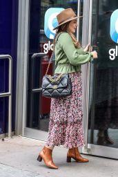 Kelly Brook - Arriving at the Global Radio Studios in London 07/24/2020