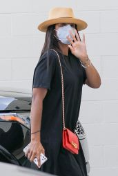 Kelly Rowland - Shopping in Beverly Hills 06/30/2020
