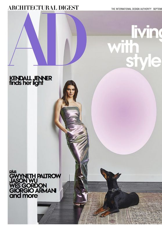 Kendall Jenner - Architectural Digest September 2020