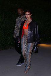 Kim Kardashian Shows Off Her New Red Hair  06/28/2020