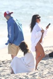 Kourtney Kardashian – Beach in Malibu 07/16/2020
