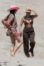 Kourtney Kardashian in a Bikini on the Beach in Malibu 07/18/2020