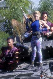 Kylie Minogue - Street Fighter Photoshoot 1994