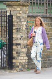 Lady Amelia Windsor in a Tie-Dye Dress - London 07/15/2020