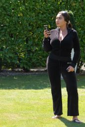 Lauren Goodger in Tight Jeans - Leaves Her House in Essex 07/07/2020