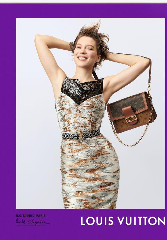 Léa Seydoux - Photoshoot for Louis Vuitton Fall 2020