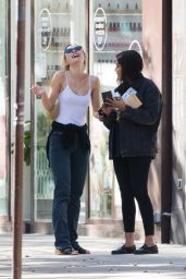 Lily-Rose Depp in Casual Outfit in Paris 07/20/2020