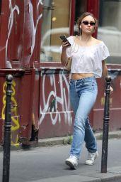 Lily-Rose Depp Street Style - Paris 07/06/2020