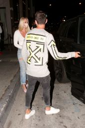 Lindsey Vonn - Out at Dinner in West Hollywood 07/18/2020