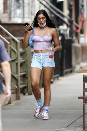 Lourdes Leon in Summer Street Outfit - NYC 07/08/2020