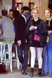 Lucy Boynton and Rami Malek - Out For Dinner in Soho 07/17/2020