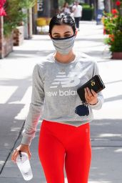Lucy Hale at Training Mate in Studio City 07/02/2020