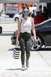 Lucy Hale in Casual Outfit - Studio City 07/24/2020
