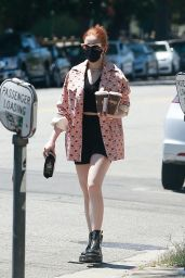 Madelaine Petsch - Out in Studio City 07/25/2020