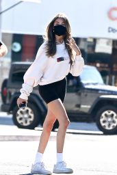 Madison Beer at a Salon in West Hollywood 07/18/2020