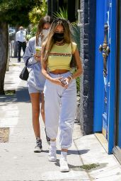 Madison Beer - Shopping on Melrose Avenue in West Hollywood 07/30/2020