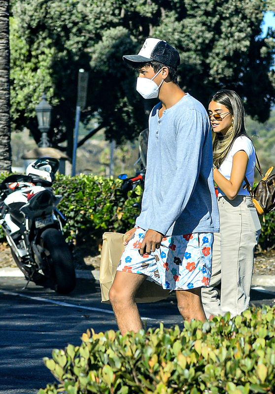 Madison Beer With a Mystery Man in Calabasas 07/20/2020