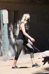Malin Akerman - Out On a Hike in Los Feliz 07/13/2020