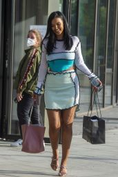 Maya Jama Style - Out in London 06/22/2020