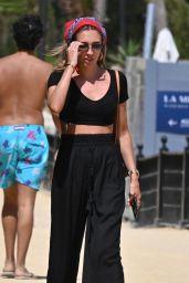 Megan McKenna at Nikki Beach in Marbella 07/21/2020