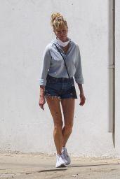 Melanie Griffith Wearing Daisy Dukes - Los Angeles 07/16/2020