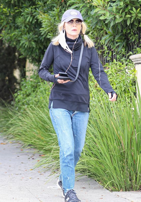Michelle Pfeiffer - Out Walking in Santa Monica 07/16/2020
