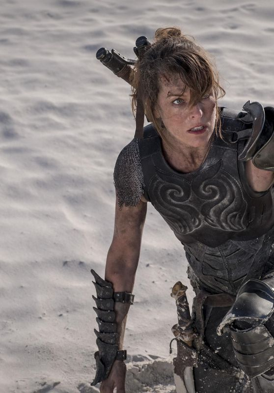 "Milla Jovovich - ""Monster Hunter"" Promo Photos"