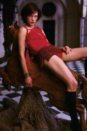 "Milla Jovovich - ""Resident Evil"" Promo Photos"