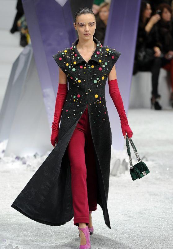 Miranda Kerr - Chanel F/W 12 Fashion Show in Paris 2012