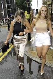 Mollie Winnard at Dirty Martini bar in Manchester City Centre 07/05/2020