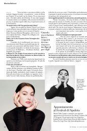 Monica Bellucci - Io Donna del Corriere della Sera 07/18/2020 Issue