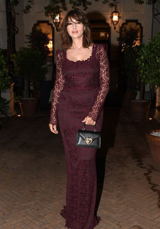 Monica Bellucci - Taormina Film Fest Evening in Honor of Dolce & Gabbana 07/18/2020