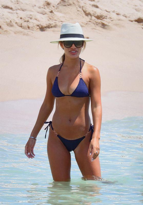 Montana Brown in a Bikini on the Beach in Cannes 07/18/2020
